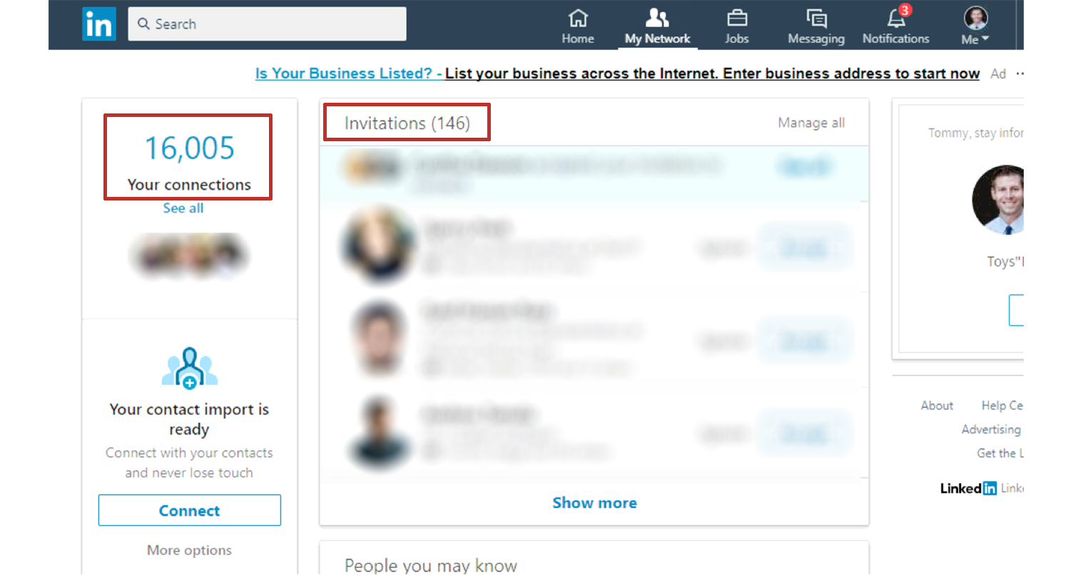 linkedin connections boosting